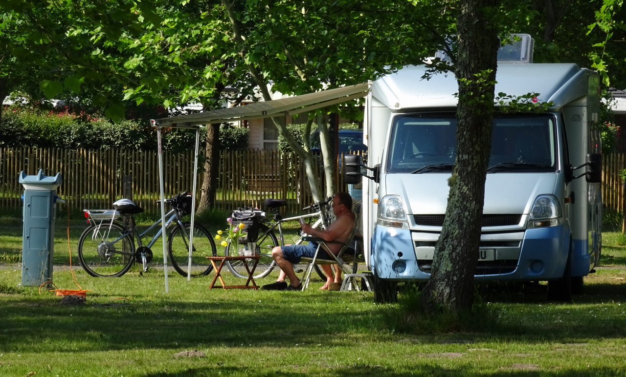 Branchement électrique de camping-car